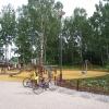 Thurmanin puisto Kauniainen, suunnittelija Hanna Hentinen