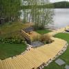Vihreää maassa ja katolla, suunnittelija Hanna Hentinen